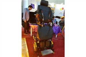 Pardis IAU Engineers Make Wheelchair Allows Disabled People to Stand