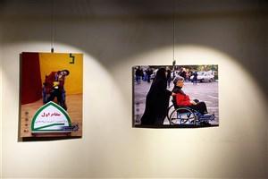 نمایشگاه آثار منتخب جشنواره عکس سلامت شهری در فرهنگسرای انقلاب  برپاست