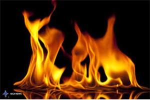 آتش سوزی در آزمایشگاه یک مجتمع آموزشی