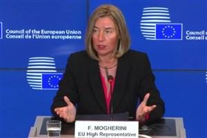 موگرینی:برجام عنصری استراتژیک برای امنیت اروپا ومنطقه است