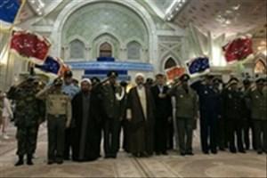 فرماندهان و کارکنان ارتش با آرمانهای بنیانگذار کبیر انقلاب اسلامی تجدید میثاق کردند