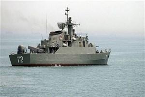 رژه دریایی یگانهای نیروی دریایی ارتش در خلیج فارس و دریای عمان