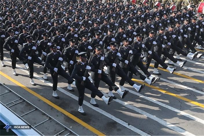 مراسم گرامیداشت روز ارتش جمهوری اسلامی ایران با حضور دکتر روحانی