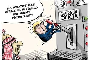 تقلای بی نتیجه ترامپ در سوریه