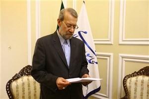 درخواست نمایندگان ازلاریجانی در پی انتشار کلمات دور از شان مجلس+متن نامه