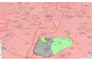 پاکسازی جنوب دمشق توسط ارتش سوریه آغاز شد