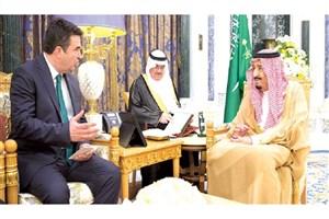 دیدار شاه سعودی با نماینده ناتو