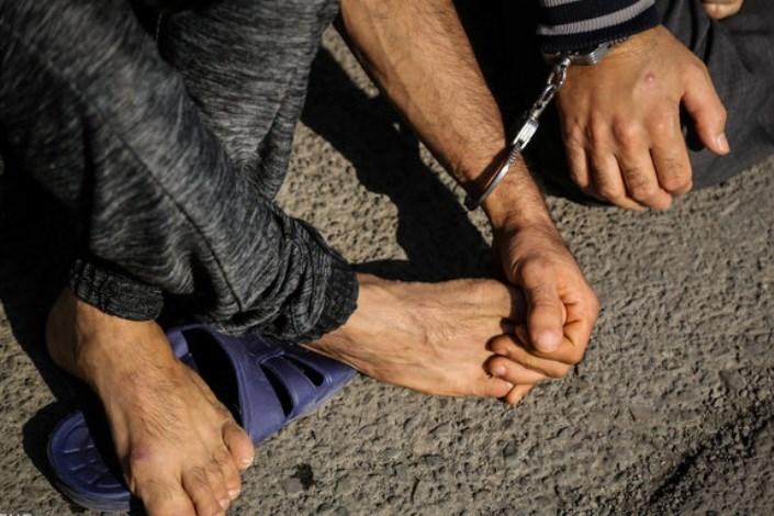 دستگیری پسر خاله های سارق