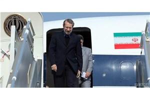 لاریجانی وارد فرودگاه مهرآباد تهران شد