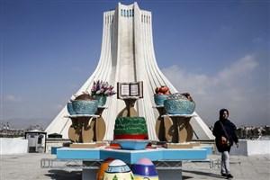 بررسی وضعیت هوای تهران دراولین ماه از بهار/ فروردین 96 پاک تر بود