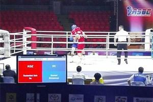 یک برد و یک باخت بوکسورهای جوان ایران در گام نخست مسابقات آسیایی
