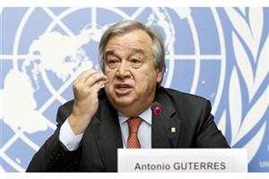 گوترش:بحران سوریه راه نظامی ندارد