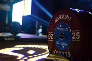 اعلام لیست نهایی مسابقات قهرمانی وزنهبرداری نوجوانان و جوانان آسیا