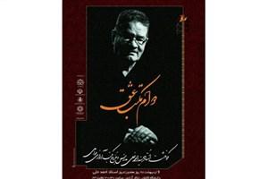 نکوداشت «سید احمد حلی» در دانشگاه کاشان برگزار می شود