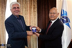 Najibullah Khwaja Omari Visits to Iran, Meeting with IAU President / In Photos