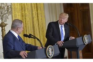 انتقاد ترامپ از نتانیاهو :اسرائیل برای صلح جدیت ندارد