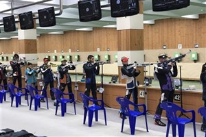 نتایج تیمهای میکس تفنگ بادی ۱۰ متر ایران مشخص شد
