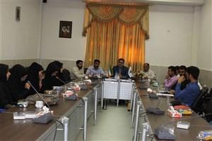 دیدار مسئول دفتر بسیج دانشجویی شهرستان فسا با رئیس و دانشجویان بسیجی دانشگاه آزاد اسلامی واحد زاهدشهر