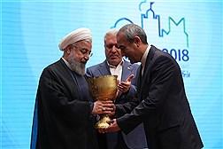 مراسم جشن رویداد تبریز ۲۰۱۸ با حضور دکتر روحانی
