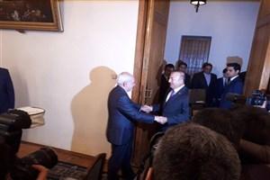 دیدار ظریف با وزیر امور خارجه ترکیه