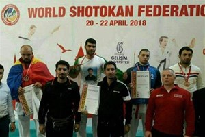 Savadkuh IAU Wins Gold in 2018 Shotokan Karate C'ships