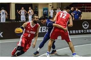 صعود بسکتبال 3 نفره مردان به کاپ آسیا