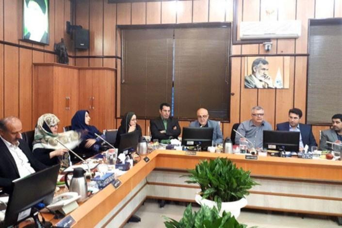 محمدعلی حضرتی در جلسه بررسی وضعیت خیابان انصاری شرقی در صحن شورای اسلامی شهر