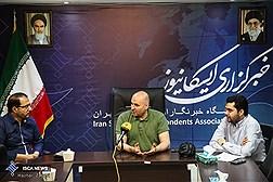 حضور علی مسعودی در ایسکانیوز