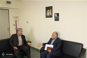 دیدار رئیس سازمان سمابا سرپرست اداره کل ورزش و تربیت بدنی دانشگاه آزاد اسلامی