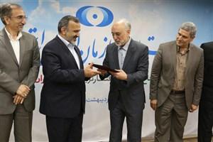 قدردانی رئیس سازمان انرژی اتمی از استاندار خراسان رضوی