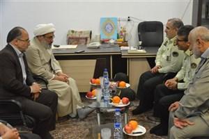 توفیق تامین امنیت مراسم نیمه شعبان نصیب نیروی انتظامی شده است