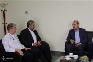 ملاقات سرپرست اداره کل ورزش و تربیت بدنی دانشگاه آزاد اسلامی با رئیس فدراسیون بسکتبال