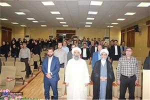 مراسم بزرگداشت روز معلم  در دانشگاه آزاد اسلامی اهواز برگزار شد
