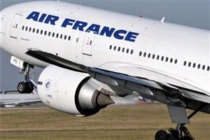 ایرفرانس پروازهایش به آسمان ایران را محدود کرد