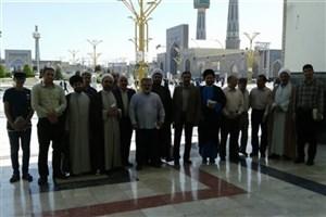 اردوی استادان منتخب فرهنگی دانشگاه آزاد اسلامی  استان اصفهان درشهر مشهد برگزار شد