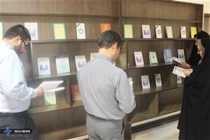 برپایی نمایشگاه آثار شهید مطهری در واحد بافت