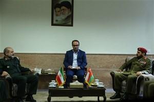 سردار وحیدی بامعاون عملیات و برنامه ریزی نیروهای مسلح عمان دیدار کرد