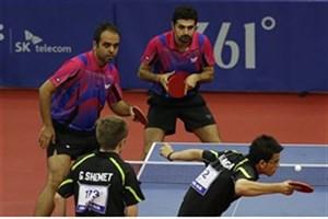 نایب قهرمانی تنیس روی میز ایران در دسته دو جهان