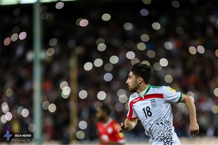 دیدار تیم های ایران و عمان