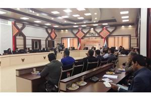 نشست تخصصی فرماندهان بسیج کارکنان دانشگاه هاو مراکز آموزش عالی  در سازمان مرکزی دانشگاه آزاد اسلامی برگزار شد