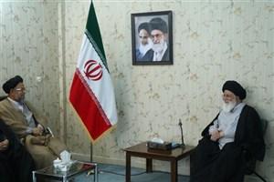 حضور وزیر اطلاعات در دفتر امام جمعه مشهد