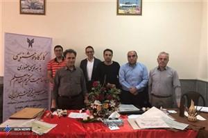 حضور استادان انجمن خوشنویسان ایران در دانشکده دامپزشکی واحد گرمسار
