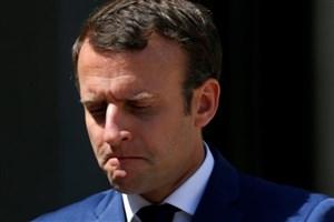 مکرون: اروپا از اقدام آمریکا  متاسف است