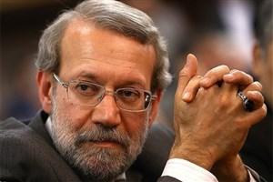 تکیه مجدد لاریجانی بر صندلی ریاست مجلس