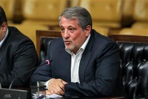 جلسه رئیس شورای شهر تهران با وزیر صنعت برای توقف برگزاری  نمایشگاه خودرو تهران