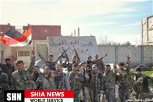 ورود نیروهای سوری به مناطق آزاد شده ریف دمشق