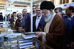 Supreme Leader of the Islamic Revolution Visits 2018 Tehran's Int'l Book Fair / In Photos