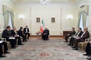 روحانی: شرکتهای ایرانی آماده ارائه خدمات فنی و مهندسی به ترکمنستان هستند