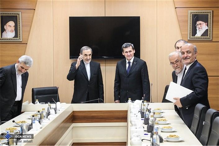 دیدار وزیر امور خارجه ترکمنستان با دکتر ولایتی