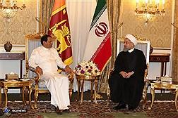 دیدار  رئیس جمهور سریلانکا با دکتر روحانی